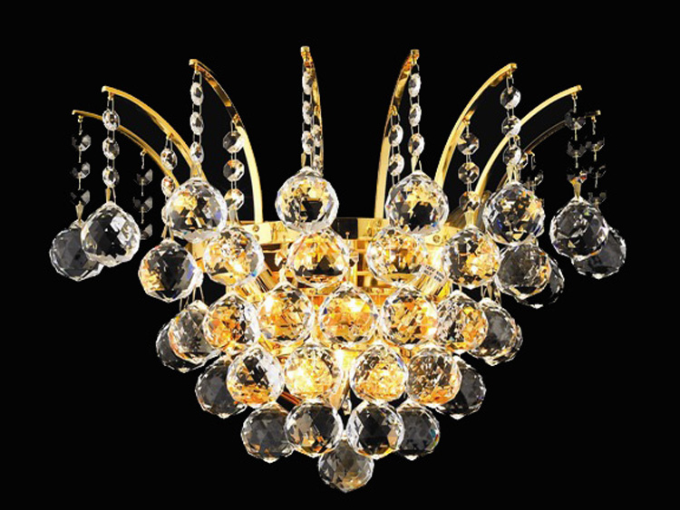 Crystal Wall Sconces