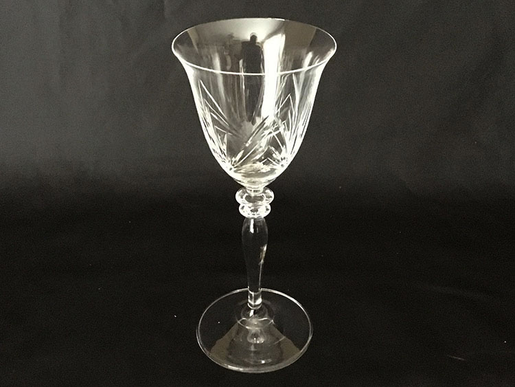 Crystal Hand Cut Goblets Poland *Set of 6*