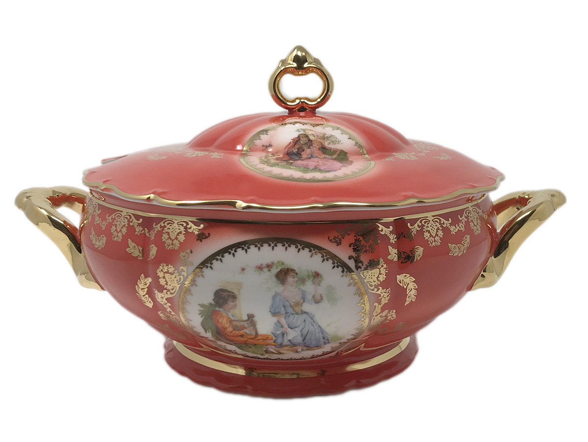 Madonna Original Red-Ruby Soup Tureen 3.0 Liters