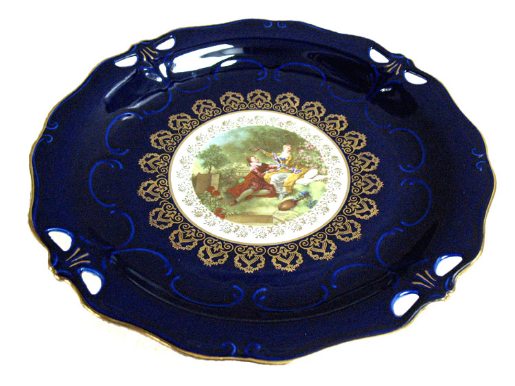 Madonna Cobalt Romeo & Juliet Antique Cake