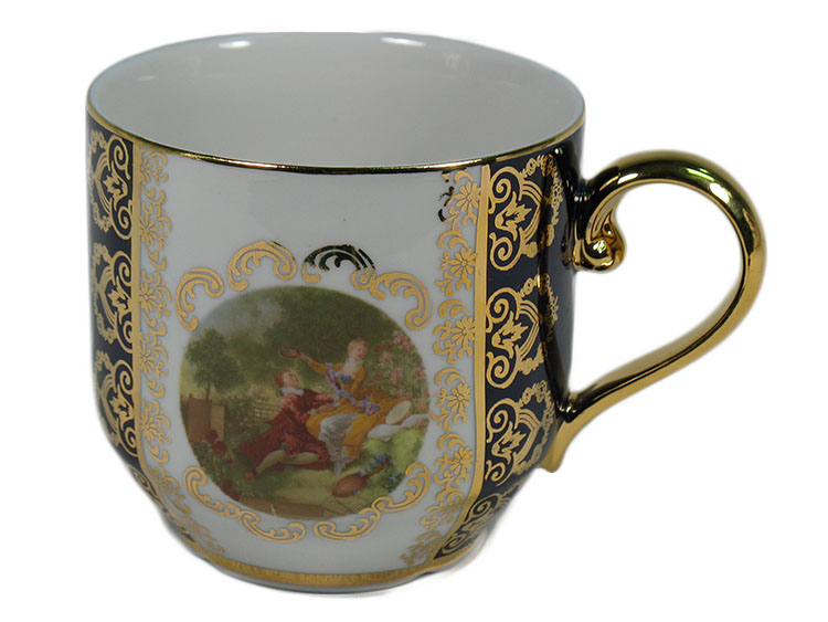 Madonna Cobalt Romeo & Juliet Herbal Tea Mug