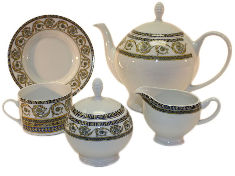 Tea Set Versace Design Poland 12 Persons